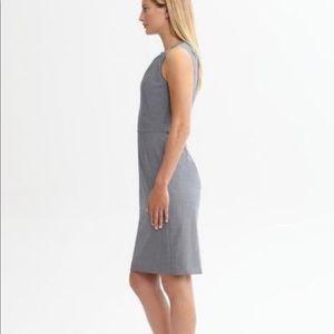 Grey banana republic dress NWT size 0p